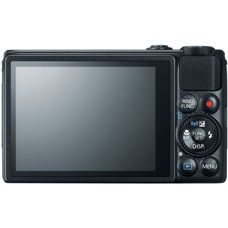 Rear Screen of Canon S120