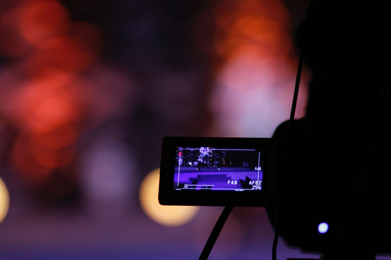 Recording video at night